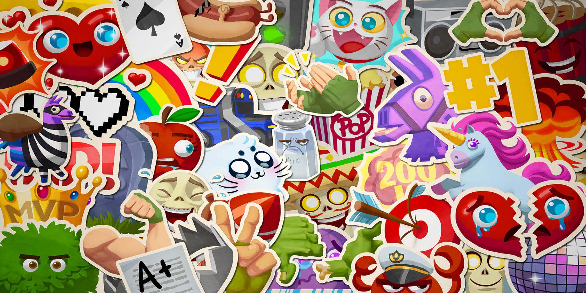 fortnite wallpaper emoticons - fortnite emoji wallpaper
